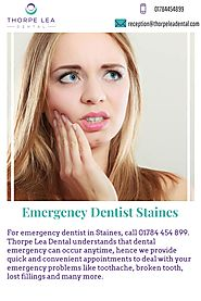 Emergency Dentist Staines