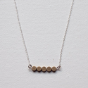 Layering Necklaces, Circle Necklace, Circle Necklace, Everyday Jewelry, Dainty Necklace