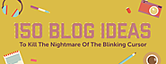 150+ Blog Ideas To Kill The Nightmare Of The Blinking Cursor