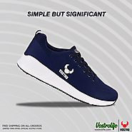VOSTRO ZEST Navy Men Sports Shoes