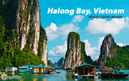 Halong Bay, Vietnam (World's Eighth Wonder)