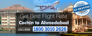 Cochin To Ahmedabad Flights