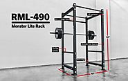 Rogue RML-490 Power Rack - Monster Lite - SALE: $900.00 (Regular Price: $983.00 )
