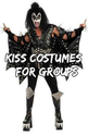 Kiss Costumes (Band) for Kids and Adults