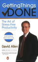 Getting Things Done: The Art of Stress-Free Productivity: David Allen: 9780142000281: Amazon.com: Books