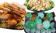 Ingallina's March Month & St. Patrick Day Special Party Platters and Gift Box