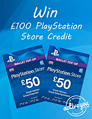 Win £100 to spend at Playstation Store - UK – WhyPayFull