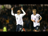 NATHAN REDMOND WINNING GOAL: England vs Wales 1-0 in Derby
