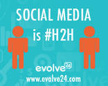 Social Media is Human-to-Human (H2H)