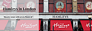 Hamleys in London - The massive store with seven floors of toys