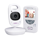 Lorex BB2411 2.4-Inch Sweet Peek Video Baby Monitor with IR Night Vision and Zoom (White)