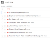 JUNE 2014 - Click here to see all the tracks