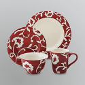 Sandra by Sandra Lee 16-Piece Dinnerware Set - For the Home - Dishes, Linens & Tableware - Dinnerware