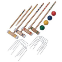 East Point Sports Croquet Set - 4 Player - Fitness & Sports - Outdoor Games - Croquet