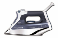 Rowenta DW8080 Pro Master Steam Iron with 400-Hole Stainless Steel Soleplate 1700 Watt, Blue