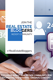 Join The r/RealEstateBloggers Community on Reddit