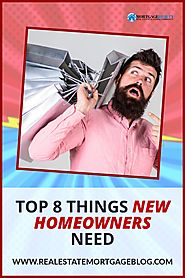 r/RealEstateBloggers - What New Homeowners Need After Buying A Home