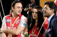 King XI Punjab Preity Zinta, Ness Wadia HD Wallpaper, Images, Pictures