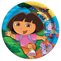 Dora And Friends Dinner Plates