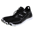 Fila Men's Skele Toes Lite Barefoot Running Shoe, Black/White/Metallic Silver 10.5 M