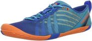 Merrell Women's Barefoot Vapor Glove Running Shoe,Blue,8.5 M US