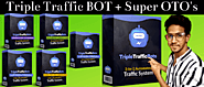 Triple Traffic Bots Review - It will be Useless Without MY BONUS
