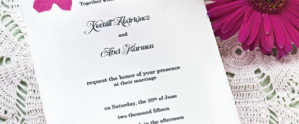 Headline for Top 10 Best Custom Wedding Invites 2018-2020