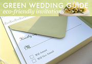 Eco-Friendly Green Wedding Invitations
