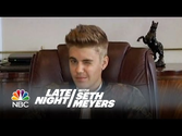 Justin Bieber Deposition - Late Night with Seth Meyers