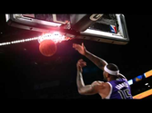 A Duo of Damaging Dunks from DeMarcus Cousins in Phantom Slow-Mo