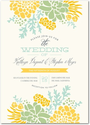 Signature White Wedding Invitations