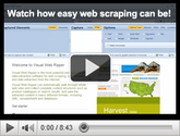 Web Data Extraction Software | Data Extraction Software | Visual Web Ripper
