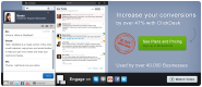 ClickDesk Live chat and Social Toolbar