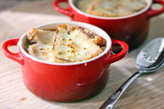 French onion soup bowls