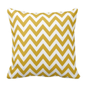 Gold Chevron Zigzag Stripe Pattern