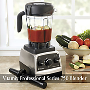Vitamix Professional Series 750 Blender in Brushed Stainless