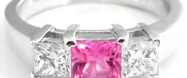 Headline for Best Pink Sapphire Engagement Rings Princess Cut