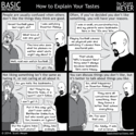 Basic Instructions - Basic Instructions - How to Explain Your Tastes