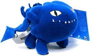 "Dreamworks Movie Series ""How to Train Your Dragon"" 5 Inch Long Mini Plush Figure with Sound - NIGHT FURY"