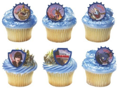 12 How to Train a Dragon Cupcake Rings PARTY FAVORS