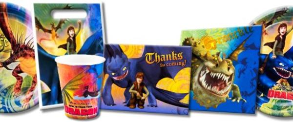 Headline for How To Train Your Dragon Party Supplies and Toys 2017-2018