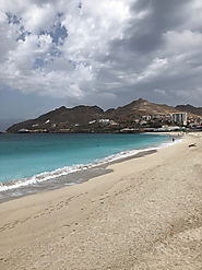 Mindelo - Sao Vicente island on Cape Verde islands (Cabo Verde) - Africa