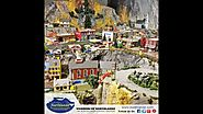 Beautiful View of Model Trains - Northlandz Miniature Wonderland