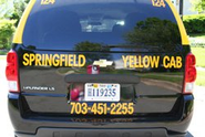 Springfield Yellow Cab NOVA | Fairfax County Taxi Service | Northern Virginia