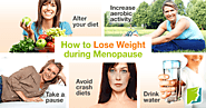 how to lose weight in menopause?