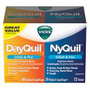 Vicks NyQuil and DayQuil LiquiCaps Combo Pack - 72 ct. - Sam's Club
