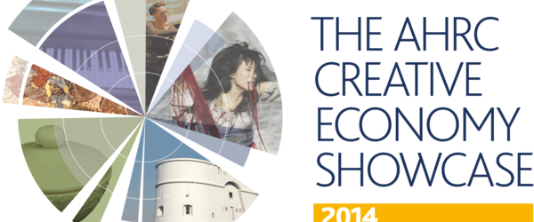 Headline for AHRC Creative Economy Showcase Community