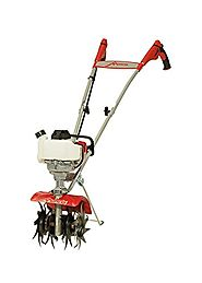 Mantis 4-Cycle Tiller Cultivator 7940 Powered by Honda – Lightweight, Powerful and Compact - No Fuel Mix, Sure-Grip H...