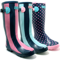 "Spy Love Buy New Womens Wyre Valley Wellies Wellington Boots ""Autumn"""