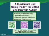 A Curriculum Unit using iPad Tablets, for Students with Autism - The Amazing Race